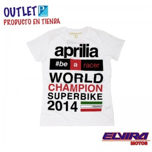 Aprilia Racing Superbike- Camiseta AR SBK World Champion 2014
