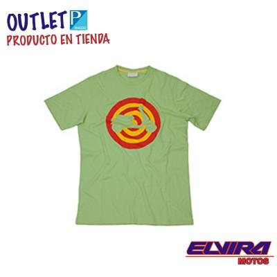 Camiseta Hombre Target Diana Vespa Verde