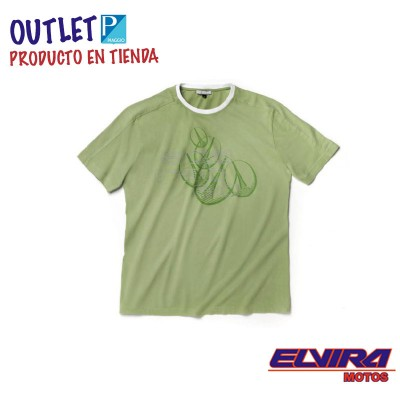 Camiseta hombre M-C Scarabeo Verde