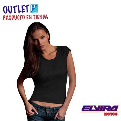 Camiseta de Tirantes Mujer Negra Colección Lifestyle 2009-2010