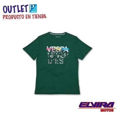 Camiseta Hombre Years Vespa Verde